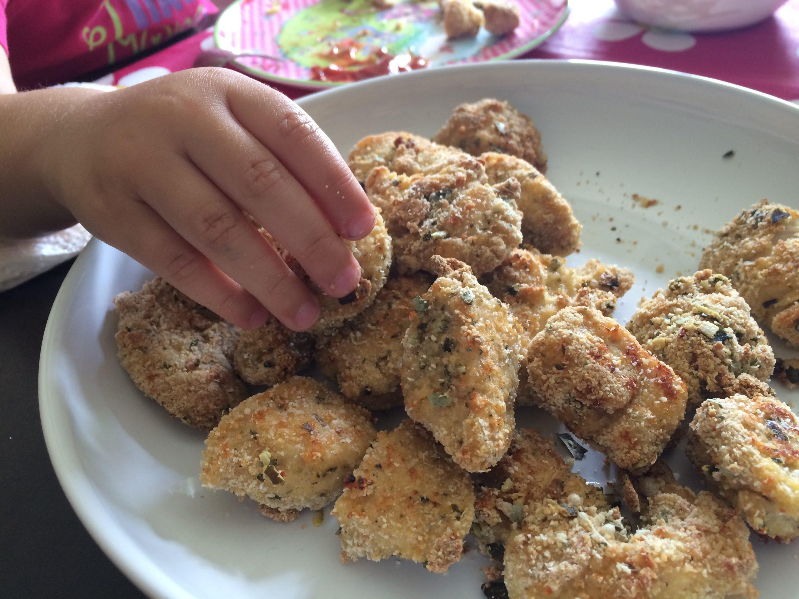 gesunde nuggets kinderrezept