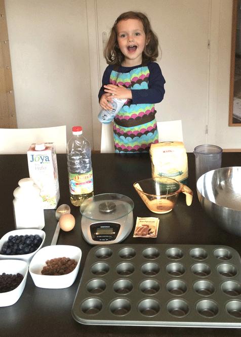 einfaches frühstück Rezept mit Kindern