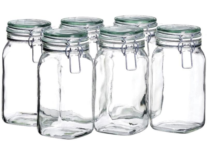 Gläser mit Schnappverschluss